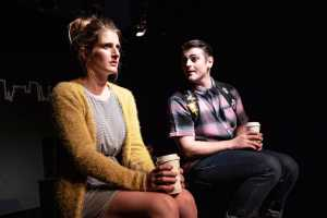 Josie Piers and Dean De Klerk in Ordinary Days musical. Pictures: Daniel Rutland