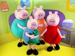 Peppa Pig's Big Day Out, Peppa Pig Live Tour, Peppa hashtag, #PeppaPigLiveSA