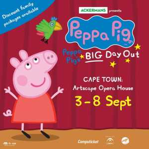 Peppa Pig Cape Town tickets