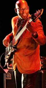 Bassist Peter Ndlala