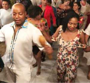 Dance Coach of Strictly Come Dancing South Africa Thabo Moloto of ComeSalsa