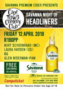 CTCC Night of Headliners at Dock Road Pumphouse Cape Town
