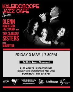 The Clarisse Sisters from Mauritius appear at Kaleidoscope Cafe