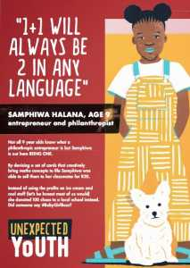 Samphiwa Halana, 9, entrepreneur and philanthropist - Soda Bloc Kids Unexpected Youth kids talent search competition