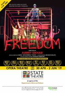 The Fallists Freedom is at the South African State Theatre in Pretoria