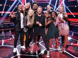 The Voice SA #TeamVanCoke at the end of the knockouts