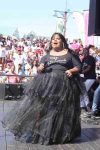 Singer Vuvu Khumalo