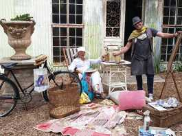 Wilna Rabe and Ronald West Vintage Ideas Market 2019 Simondium Country Lodge Paarl