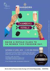 Chambord Royale Freedom Day Celebrity Power Panel and Ladies Luncheon