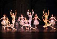 CTCB dance in the Prologue of Sleeping Beauty. Picture: Pat Bromilow-Downing