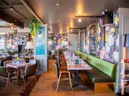 Bobos Brasserie in Cape Town