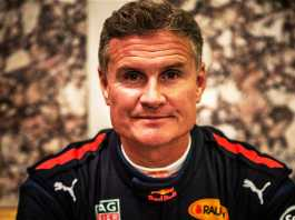 David Coulthard on the Cape Town Circuit