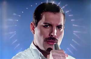 New Freddy Mercury release of Time