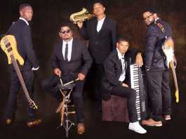 Cape Town jazz band GMinor has played at MosJazz festival