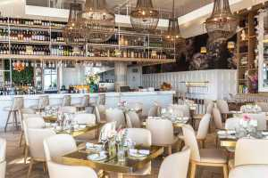 Enjoy contemporary comfort food at Lily's restaurant in Mouille Point