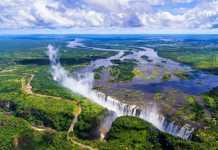 Take a trip to Victoria Falls