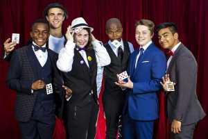 Western Cape Junior Magician Championships competitors