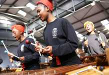 The Education Africa International Marimba and Steelpan Festival 2019 happens in Boksburg