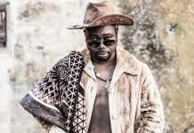 Julio Sigauque of The Congo Cowboys. Picture Jonx Pillemer