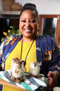 Zola Nene appears at the DStv Delicious International Food and Music Festival