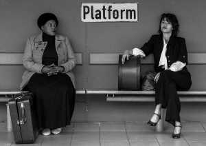 Zoleka Helesi and Daneel van der Walt in an Alice Childress play, Florence. Picture: Ruth Smith