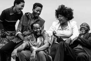 Indalo Bennet, Sizwesandile Mnisi, Marty Kintu, Zoleka Helesi, Apollo Ntshoko in Wine in the Wilderness. Picture: Ruth Smith