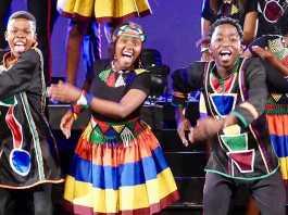 Ndlovu Youth Choir live
