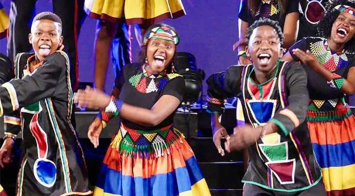Ndlovu Youth Choir live