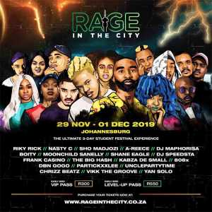 Rage in the City artists