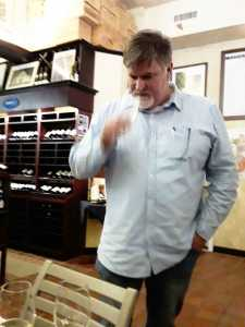 Dirk Human, winemaker and viticulturist of Black Oystercatcher boutique wines. Picture: Karen Watkins