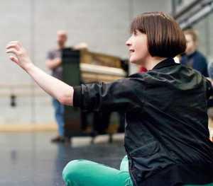 Kerry Nicholls teaching