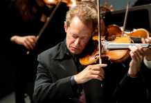British violinist Anthony Marwood