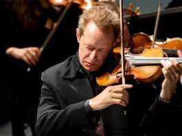 British violinist Anthony Marwood