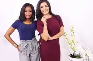 Palesa and Jeannie D in The Taste Master SA