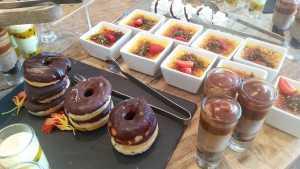 Tobago's dessert buffet