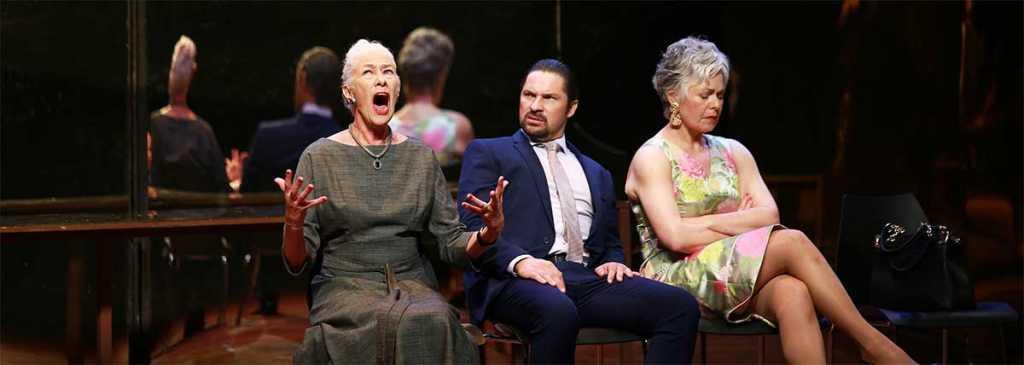 Antoinette Kellermann, Neels van Jaarsveld and Anna-Mart van der Merwe in Koningin Lear. Picture: Nardus Engelbrecht