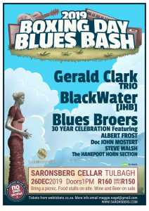 Boxing Day Blues Bash 2019