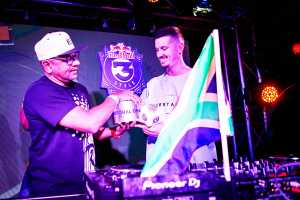 DJ Ready D and DJ Gremlin. Pictures: Tyrone Bradley Red Bull