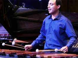 Dylan Tabisher marimba
