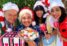 Join Hansel and Gretel for their Christmas Party - Dean Van Der Ventel, Jeremeo Le Cordeur, Desle Mc Conney and Buddy Bo Butler