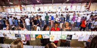 1000 Drawings kicks off with the launch of Art Battle SA