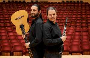Guitarist Joshua Frank joins clarinettist Cameron Williams in Soirée Espagnole at Erin Hall Rondebosch