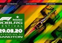 Heineken F1 Joburg Festival tickets