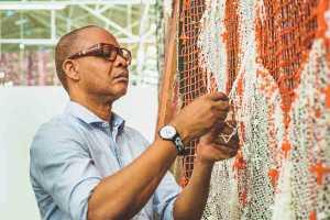 Nigerian artist Victor Ehikhamenor
