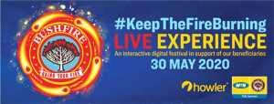 Bushfire #Keepthefireburning live experience