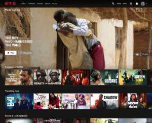 The Netflix Made In Africa collection