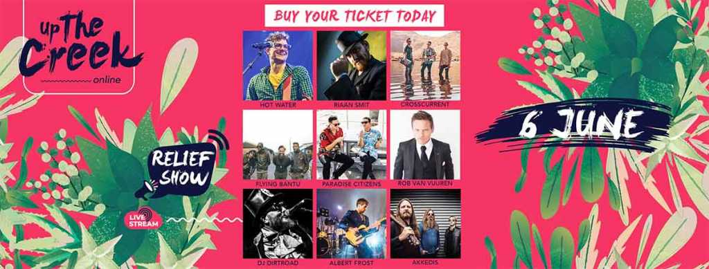 Up the Creek Music Festival online show tickets