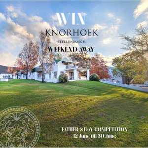 How to enter the the Knorhoek Father's Day Competition