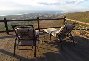 Super views from the deck at at Montispectus on Blaauwberg Hill. Photos: Karen Watkins