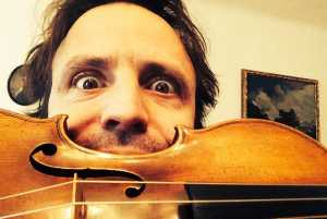 Violinist Frank Stadler appeared with the CPO at their Klein Karoo Klassique concert series
